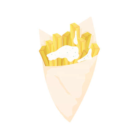 fry: fries with mayonnaise