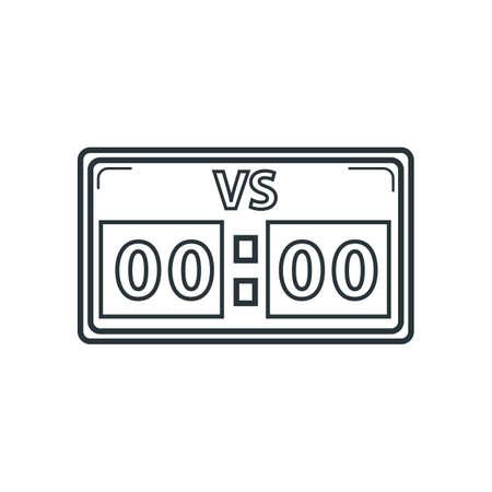 score board: score board Illustration