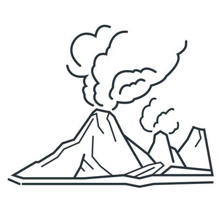 volcan Vecteurs