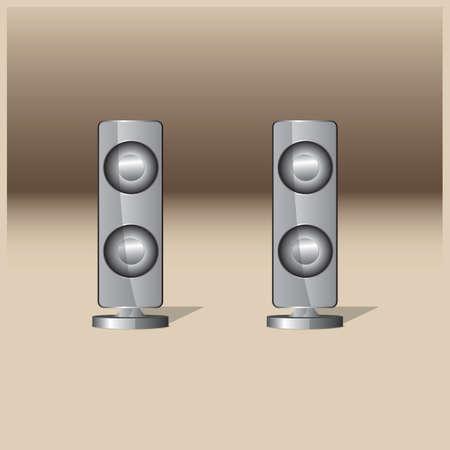 speakers: stereo speakers