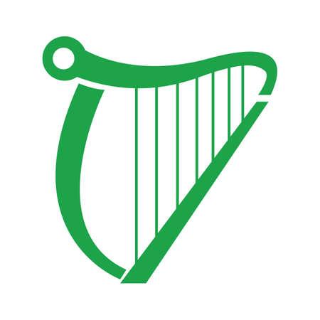 accoustic: harp Illustration