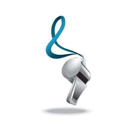shrill: whistle Illustration