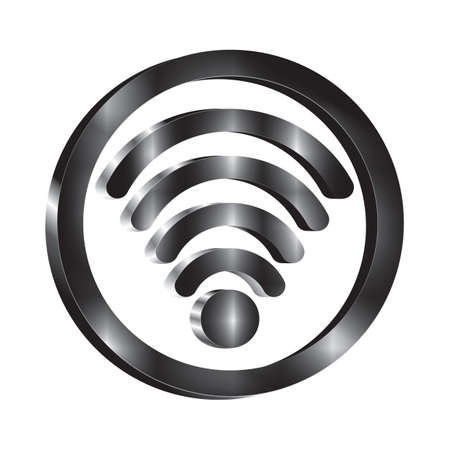connection connections: wifi icons Illustration