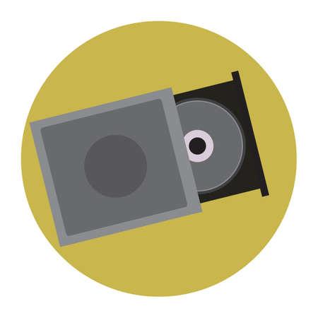cd player: cd player Illustration