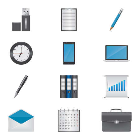 envelope icon: office icons collection