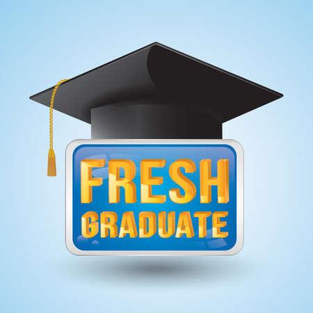 fresh graduate: fresh graduate Illustration