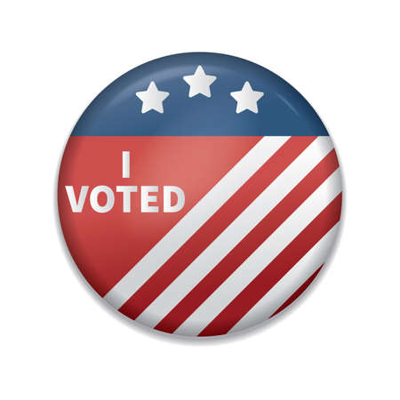 i voted: i voted badge