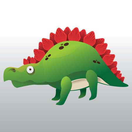 stegosaurus Illustration