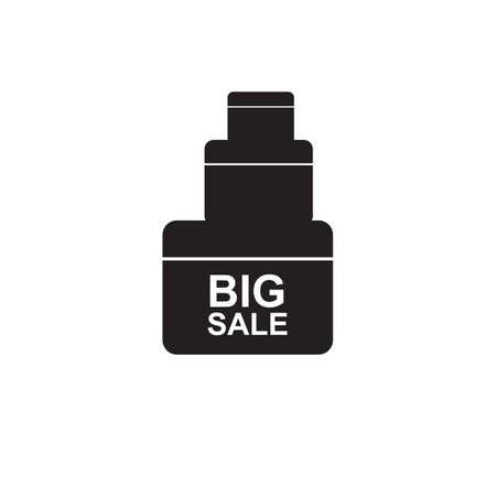 big sale: big sale icon Illustration
