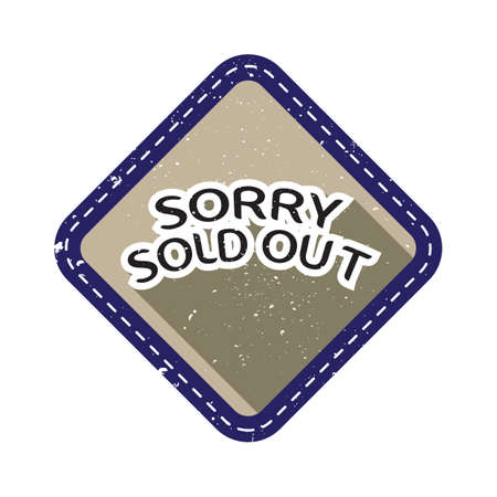 sold: sorry sold out