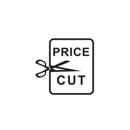 price cut: price cut label