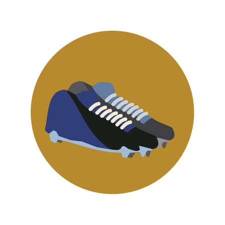 football boots: football boots Illustration