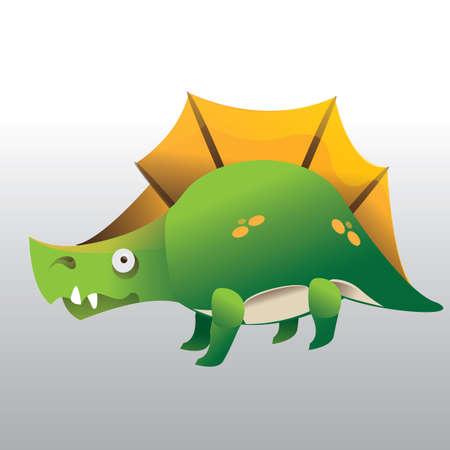primeval: dinosaur Illustration