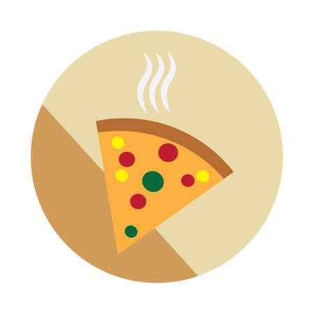 binge: pizza Illustration