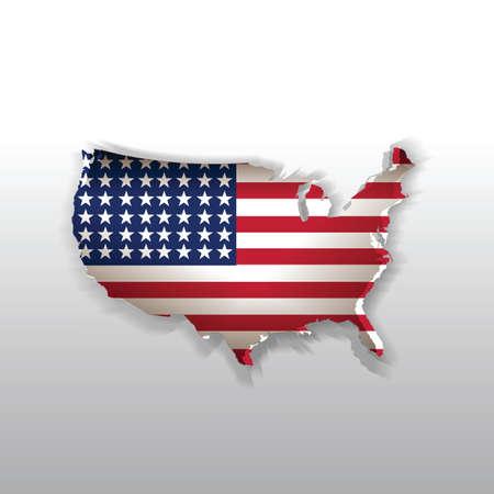 american: american map