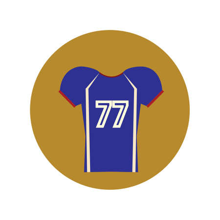 football jersey: football jersey Illustration