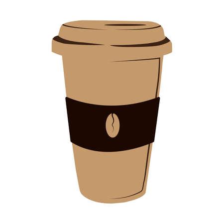 takeaway: hot coffee takeaway cup