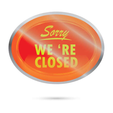 is closed: closed signboard