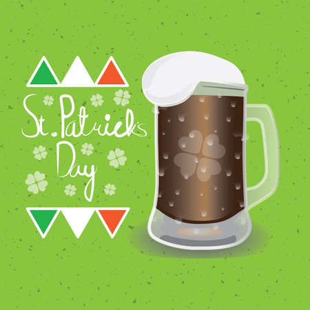 st  patrick's day: st patricks day card Illustration