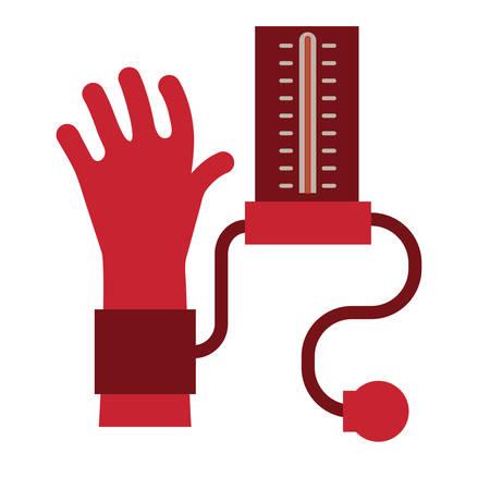 pressure gauge: blood pressure gauge