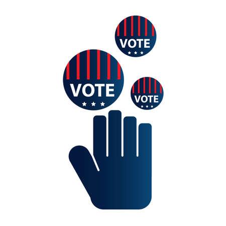 vote: vote Illustration