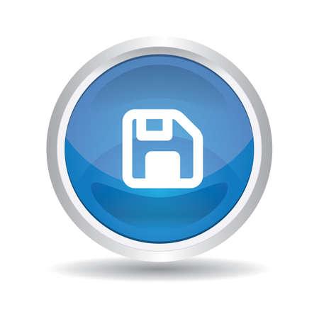 floppy: floppy button