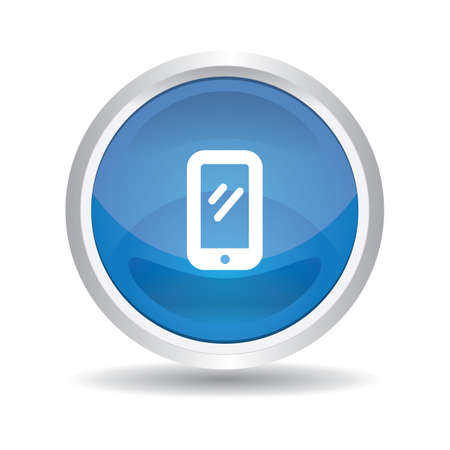 smartphone: smartphone button Illustration