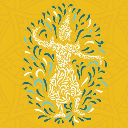 songkran: songkran festival card