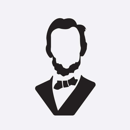 abraham lincoln: abraham lincoln Illustration