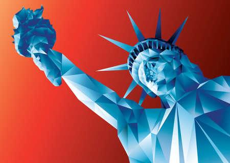 Statue der Freiheit Vektorgrafik
