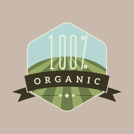 hundred: hundred percent organic label