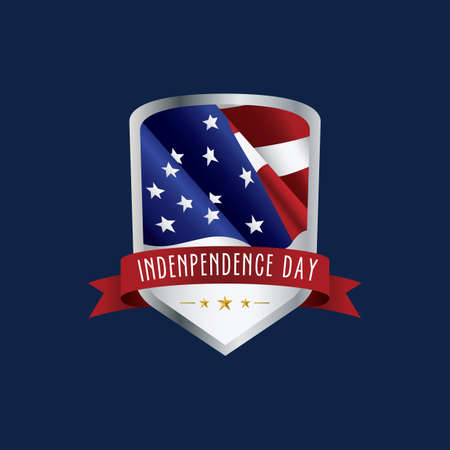 the day: usa independence day label