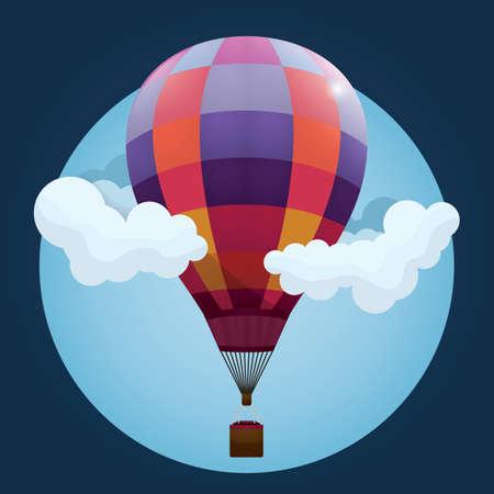 the hot: hot air balloon