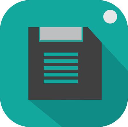 floppy: floppy disc tag