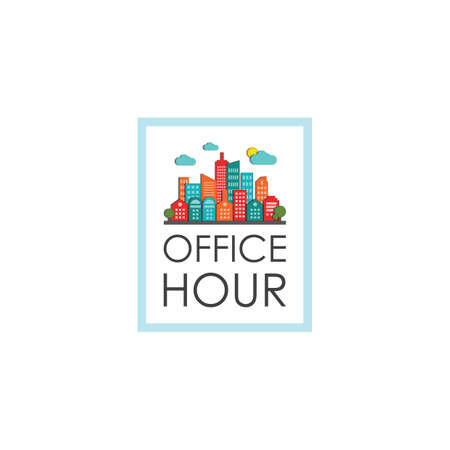built structure: office hour label