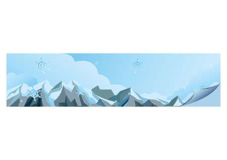 snow mountains: snow mountains