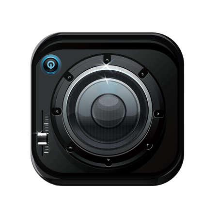 knob: volume control knob