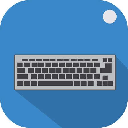 tag: keyboard tag Illustration