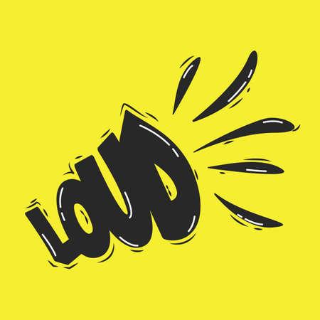 loud: word loud