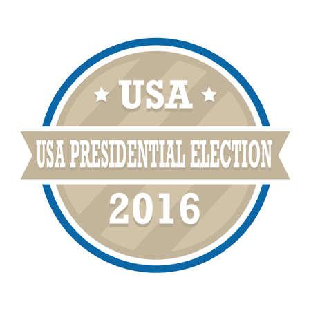 presidential: usa presidential election label