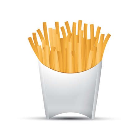 eatery: french fries Illustration