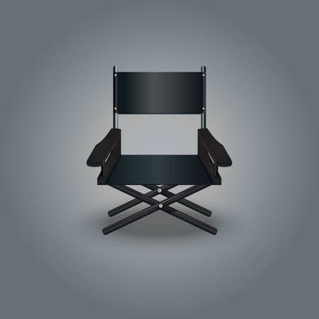 director chair: director chair Illustration