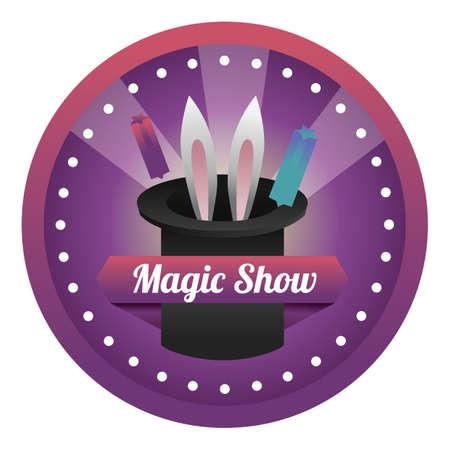 magic show: magic show label