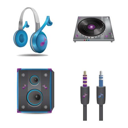 audio equipment: audio equipment set