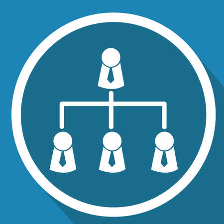 business communication: business communication group Illustration