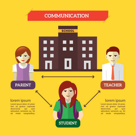 communication: infographic of communication Illustration