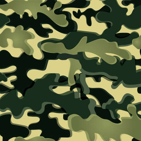 concealment: camouflage Illustration