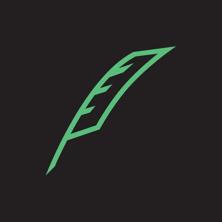 feather pen: feather pen