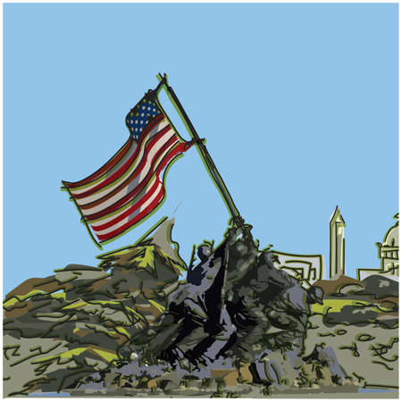corps: marine corps war memorial