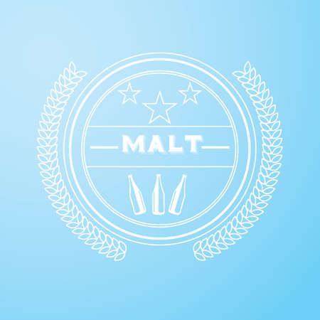 malt: malt label